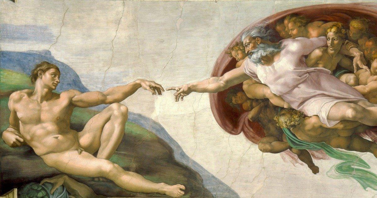 Significado Del Fresco La Creación De Adán De Miguel ángel Cultura Genial