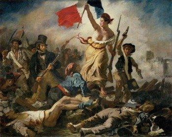 Cuadro La Libertad guiando al pueblo