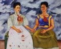 Cuadro Las Dos Fridas de Frida Kahlo