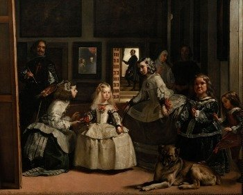 Cuadro Las meninas de Diego de Velázquez