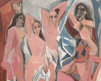 Cuadro Las señoritas de Avignon de Pablo Picasso
