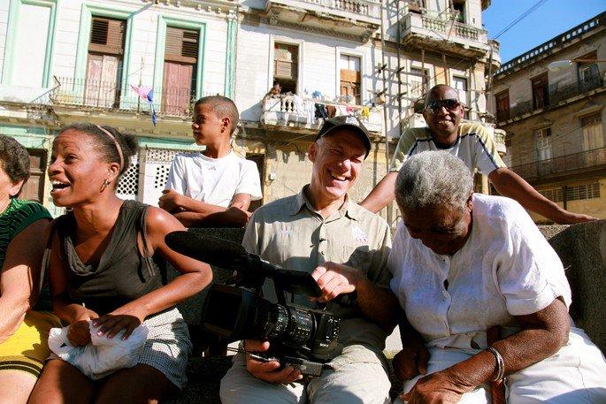 Fotograma del documental Cuba a través de la cámara