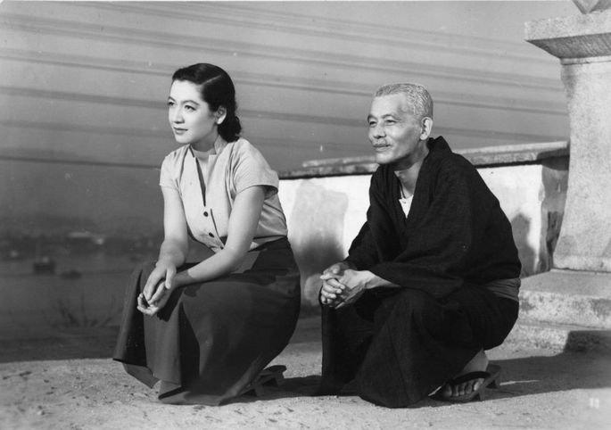 Fotograma de la película Cuentos de Tokio
