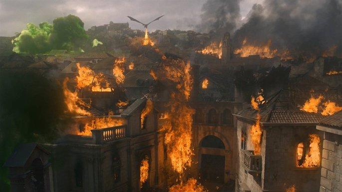 Daenerys quema Desembarco del Rey