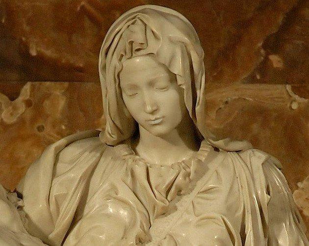 Detalle Virgen María