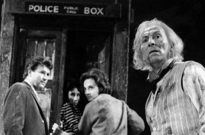 Fotograma  de la serie Doctor Who