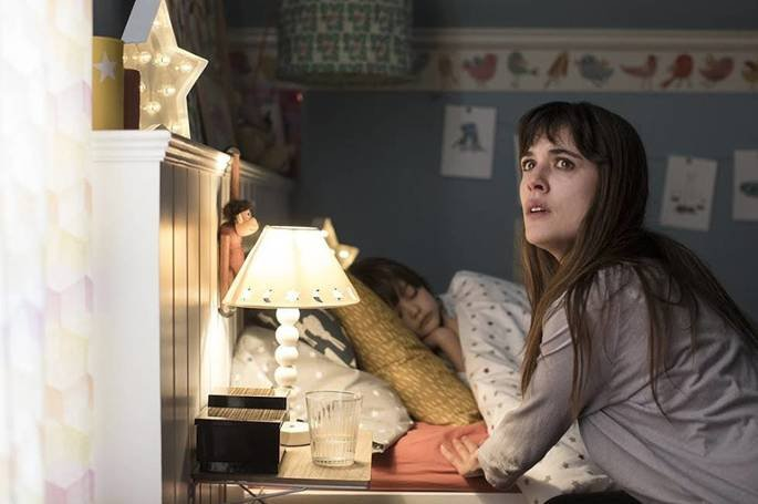 Fotograma de la película Durante la tormenta
