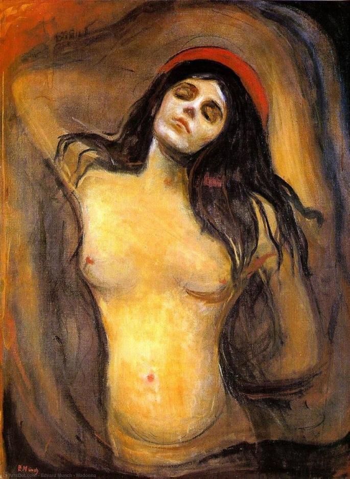 Edvard Munch: Madonna, 1894
