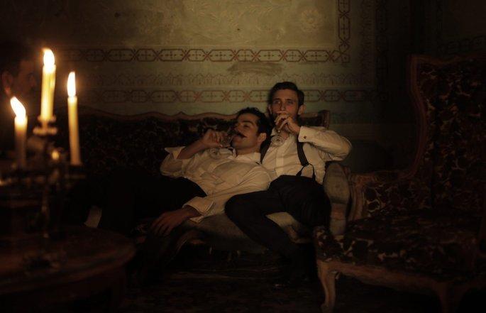 Fotograma de la película El baile de los 41