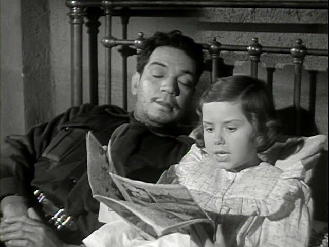 Fotograma de la película El bombero atómico
