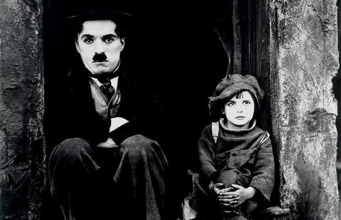 Fotograma de la película El chico.