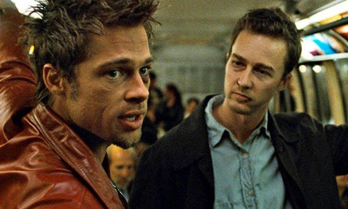 Fotograma de la película El club de la pelea