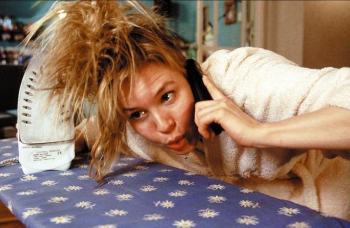 Fotograma de la película El diario de Bridget Jones