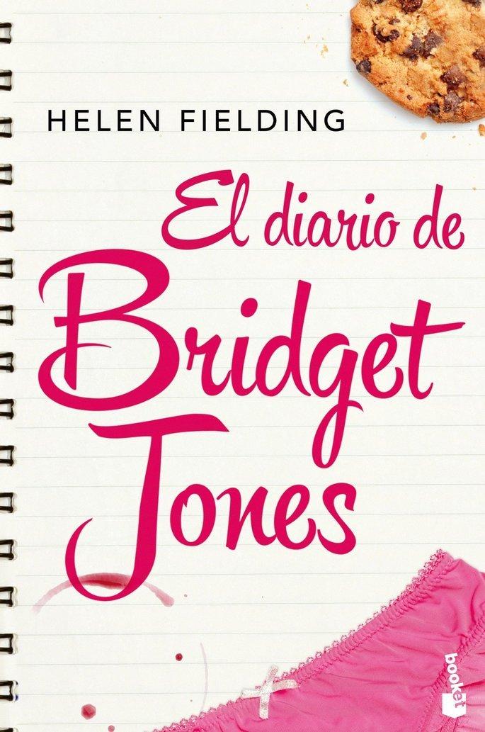 Portada del libro el diario de Bridget Jones