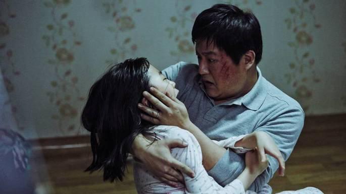 Fotograma de la película El extraño