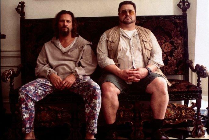 Fotograma de la película El gran Lebowski