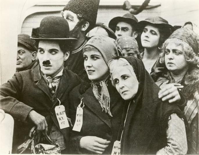 El inmigrante película.