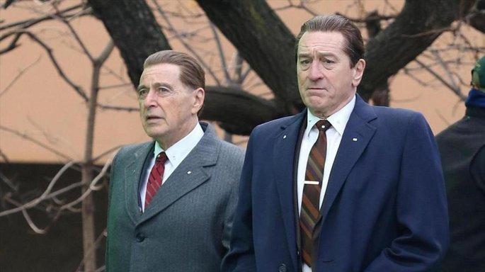 Fotograma de la película El irlandés