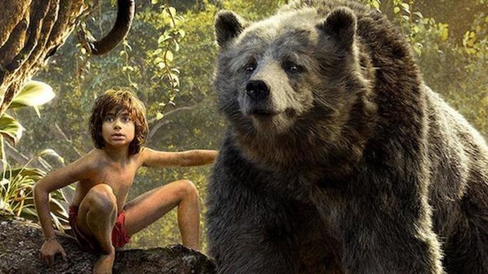 Fotograma de la película El libro de la selva