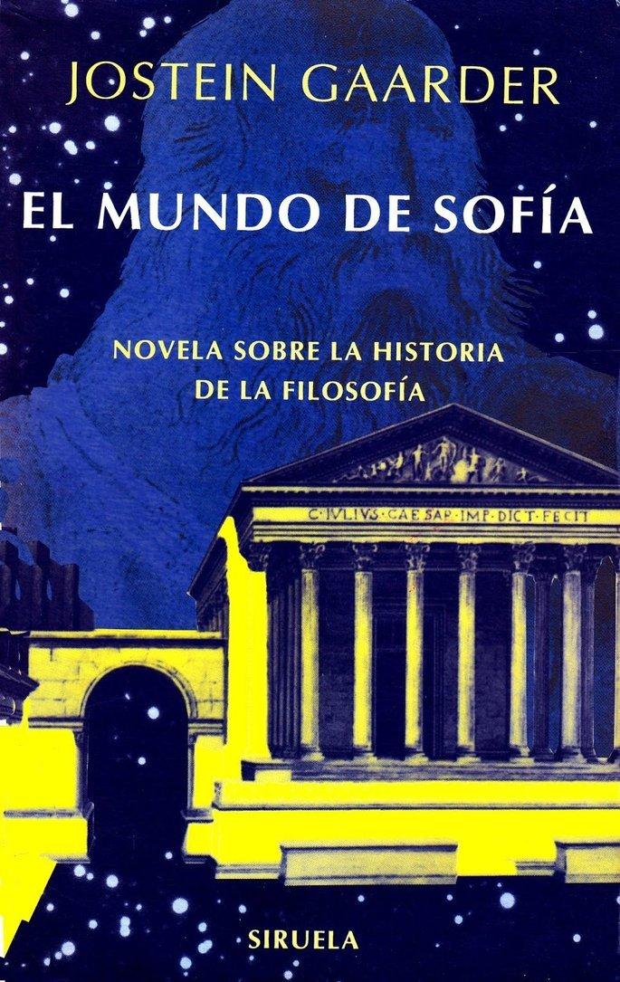Portada de libro El mundo de Sofía