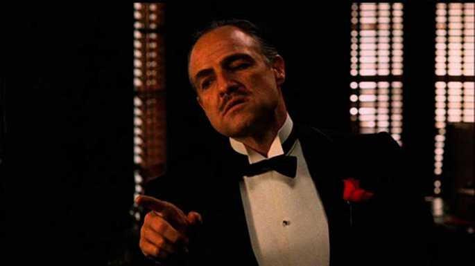 Fotograma de la película El padrino