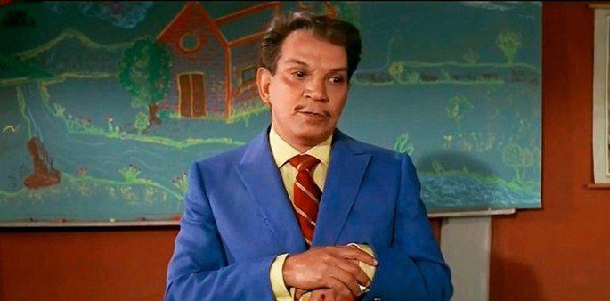 Fotograma de la película El Profe