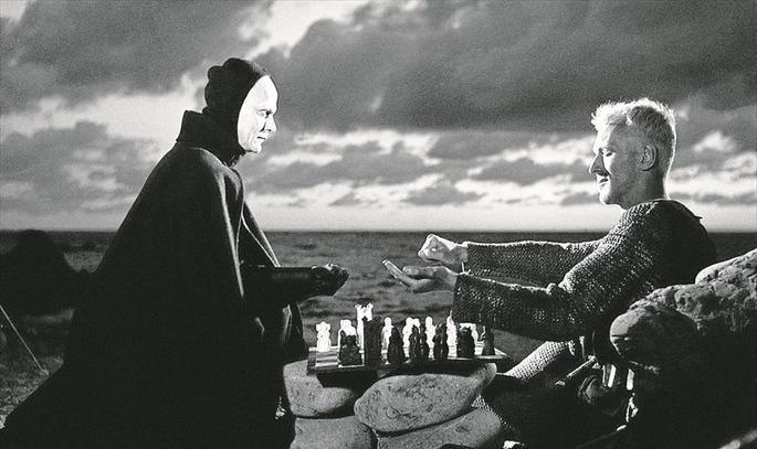 Fotograma de la película El séptimo sello