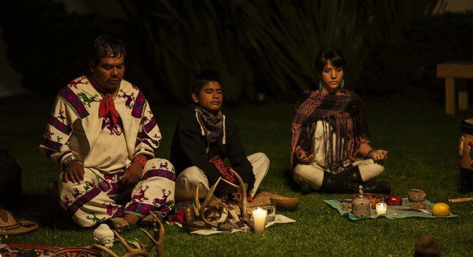 Fotograma de la película El sueño del Mara´akame