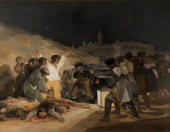 El 03 de mayo de 1808 en Madrid