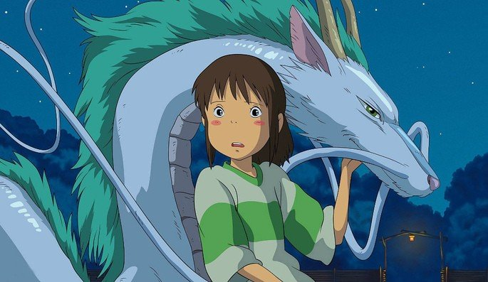 Fotograma de la película El viaje de Chihiro