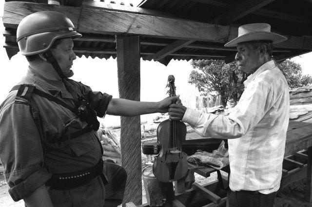 Fotograma de la película El violín