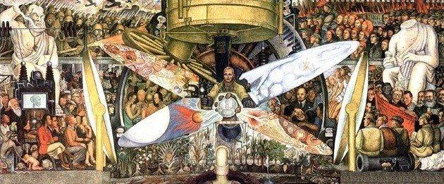 Diego Rivera: El hombre controlador del universo. 1934.