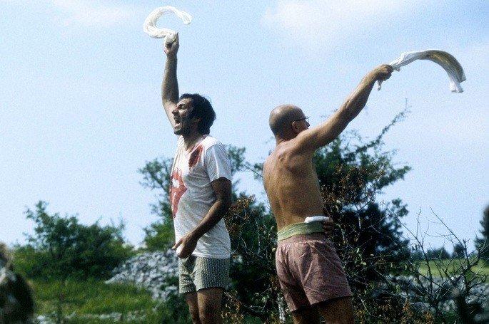 Fotograma de la película En tierra de nadie