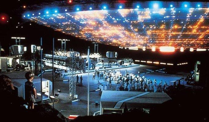 Fotograma de la película Encuentros en la tercera fase
