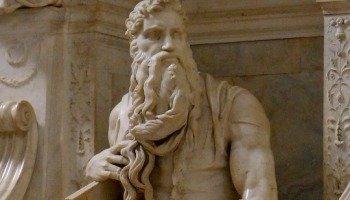Escultura de Moisés de Miguel Ángel