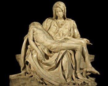 Escultura la Piedad de Miguel Ángel