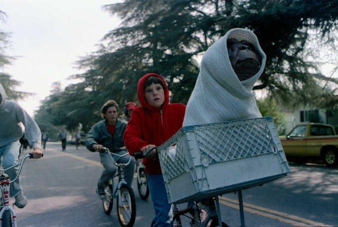 Fotograma de la película E.T. El Extraterrestre