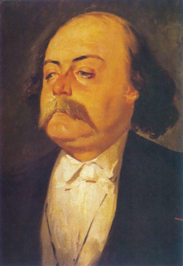 Flaubert por Eugene Giraud