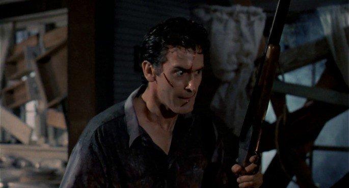 Fotograma de la película Evil Dead II
