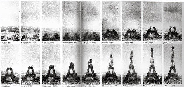 Evolución Torre Eiffel