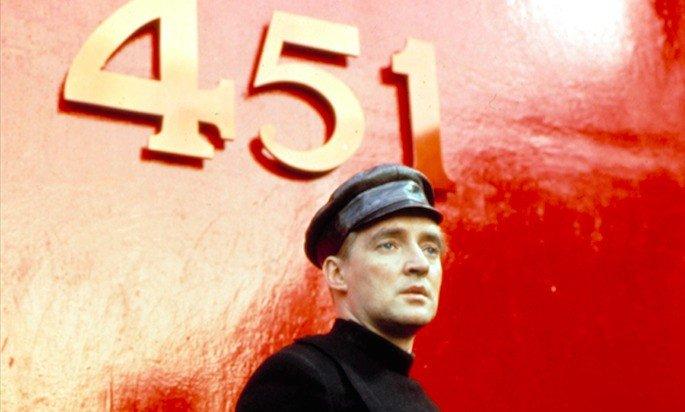 Fotograma de la película Fahrenheit 451