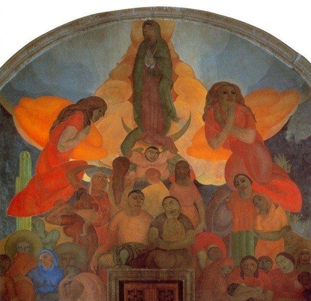 Fermin Revueltas Alegoría_a_la_Virgen_de_Guadalupe