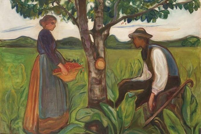 Edvard Munch: Fertilidad, 1898.