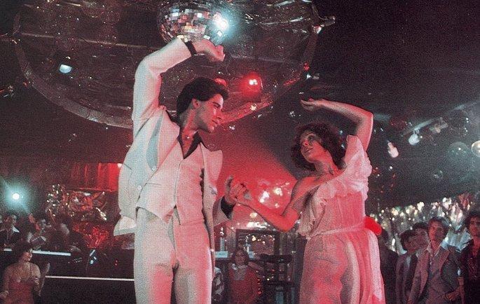 Fotograma de la película Fiebre del sábado noche