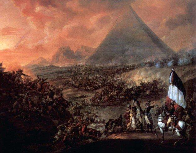 Batalla de las pirámides