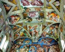 Frescos del techo de la Capilla Sixtina