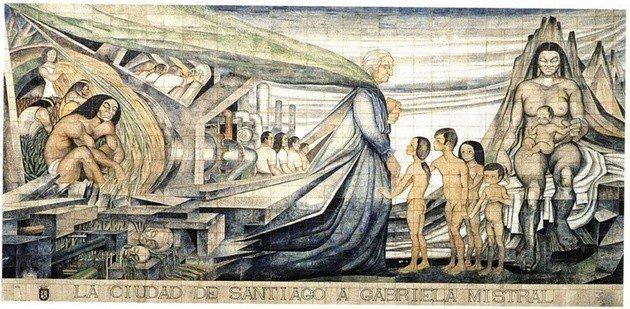 Tributo a Gabriela Mistral de Fernando Daza Osorio