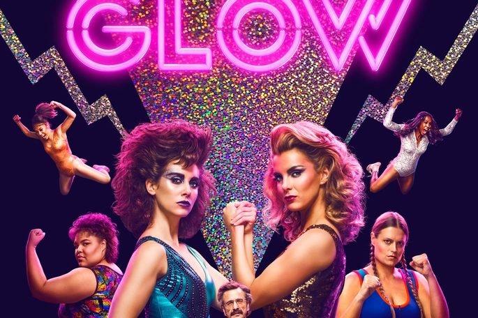 Fotograma de la serie Glow