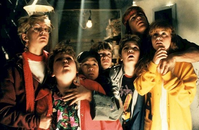 Fotograma de la película Los goonies