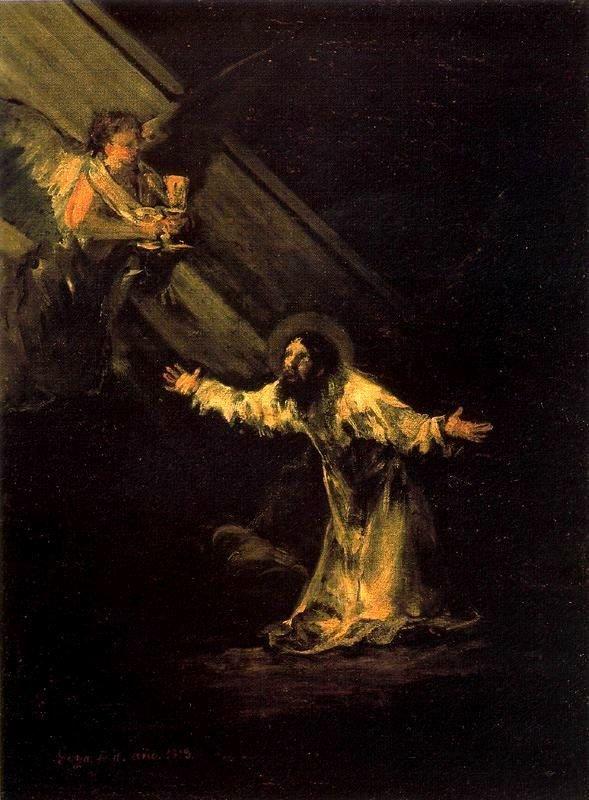 Goya La oración en el huerto de los olivos
